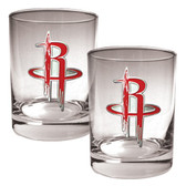 Houston Rockets Rocks Glass Set