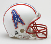 Houston Oilers 1981-1996 Throwback Riddell Mini Football Helmet
