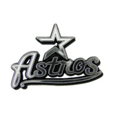 Houston Astros Silver Auto Emblem