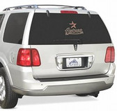 Houston Astros Rear Window Film