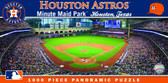 Houston Astros Panoramic Stadium Puzzle