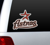 Houston Astros Die-Cut Window Film - Large