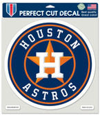 "Houston Astros Die-Cut Decal - 8""x8"" Color"