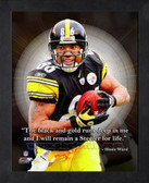 Hines Ward Pittsburgh Steelers 8x10 Framed ProQuote Photo