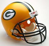 Green Bay Packers Riddell Full Size Deluxe Replica Football Helmet