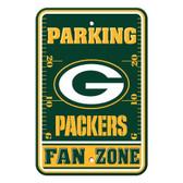 Green Bay Packers Plastic Parking Sign - Fan Zone