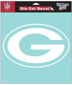 "Green Bay Packers 8""x8"" Die-Cut Decal"