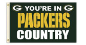 Green Bay Packers 3 Ft. X 5 Ft. Flag w/Grommets 94116B