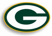 "Green Bay Packers 12"" Logo Car Magnet"