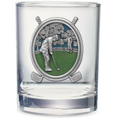 Golf Double Old Fashioned Glass Set