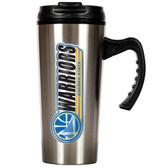 Golden State Warriors 16oz Stainless Steel Travel Mug