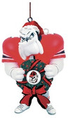 Georgia Bulldogs Mascot Wreath Ornament