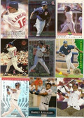 Garret Anderson 33 Card Lot Set