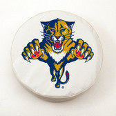Florida Panthers White Tire Cover, Small