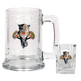 Florida Panthers Shot Glass and Mug Set