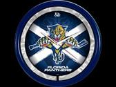 Florida Panthers Plasma Clock