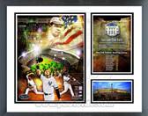 Final Game at Yankee Stadium 2008 Milestones & Memories Framed Photo