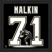 Evgeni Malkin Pittsburgh Penguins 20x20 Framed Uniframe Jersey Photo