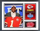Eric Berry Kansas City Chiefs 2010 Draft Pick Milestones & Memories Framed Photo