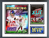 Eli Manning New York Giants Super Bowl MVP Milestones & Memories Framed Photo