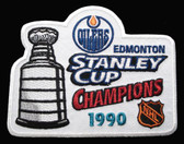 Edmonton Oilers Stanley Cup Champions 1990 Patch