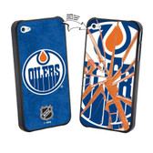 Edmonton Oilers iPhone 5 NHL  Broken Glass Lenticular Case