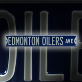 Edmonton Oilers Avenue Sign