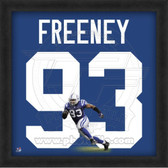 Dwight Freeney Indianapolis Colts 20x20 Framed Uniframe Jersey Photo
