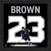 Dustin Brown Los Angeles Kings 20x20 Framed Uniframe Jersey Photo