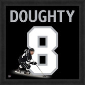 Drew Doughty Los Angeles Kings 20x20 Framed Uniframe Jersey Photo