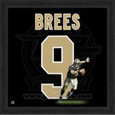Drew Brees New Orleans Saints 20x20 Framed Uniframe Jersey Photo