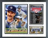 Don Mattingly New York Yankees Captain Milestones & Memories Framed Photo