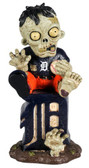 Detroit Tigers Zombie Figurine - On Logo