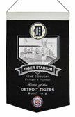 Detroit Tigers Wool Stadium Banner - Tiger Stadium