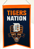 Detroit Tigers Wool Nations Banner
