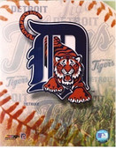 Detroit Tigers Team Logo 8x10 Photo