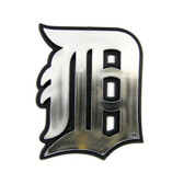 Detroit Tigers Silver Auto Emblem