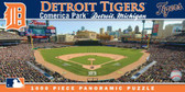 Detroit Tigers Panoramic Stadium Puzzle