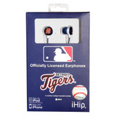 Detroit Tigers MLB Logo Earbuds