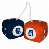 Detroit Tigers Fuzzy Dice