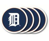 Detroit Tigers Coaster Set - 4 Pack