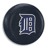 Detroit Tigers Black Tire Cover, Large