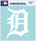 "Detroit Tigers 8""x8"" Die-Cut Decal"