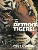 Detroit Tigers 1988 Official Yearbook