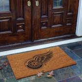 Detroit Red Wings Flocked Door Mat