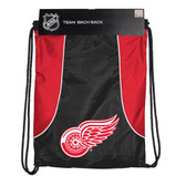 Detroit Red Wings Axis Backsack NHL Red