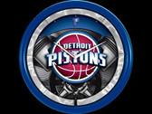 Detroit Pistons Plasma Clock