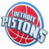 Detroit Pistons Logo Trailer Hitch Cover