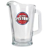 Detroit Pistons 60oz Glass Pitcher