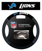 Detroit Lions Poly-Suede Steering Wheel Cover